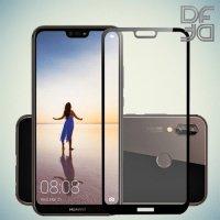 Full Glue Screen DF Защитное Закаленное Олеофобное Стекло для Huawei P20 Lite черное