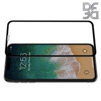 Full Glue Screen DF Защитное 3D Закаленное Олеофобное Стекло для iPhone XS Max черное