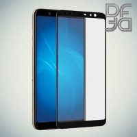 Full Glue Screen DF Защитное Закаленное Олеофобное Стекло для Samsung Galaxy A6 2018 SM-A600F черное