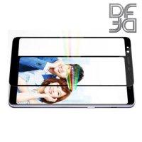 Full Glue Screen DF Защитное Закаленное Олеофобное Стекло для Samsung Galaxy A7 2018 SM-A750F черное