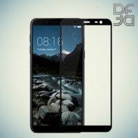 Full Glue Screen DF Защитное Закаленное Олеофобное Стекло для Samsung Galaxy J6 2018 SM-J600F черное