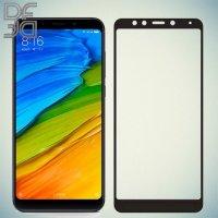 Full Glue Screen DF Защитное Закаленное Олеофобное Стекло для Xiaomi Redmi 5 Plus черное