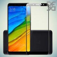 Full Glue Screen DF Защитное Закаленное Олеофобное Стекло для Xiaomi Redmi Note 5 черное
