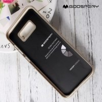 Goospery Jelly силиконовый чехол для Samsung Galaxy S8 - Золотой
