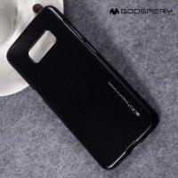 Goospery Jelly силиконовый чехол для Samsung Galaxy S8 - Черный