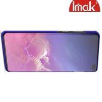 IMAK Cowboy Пластиковый чехол с защитной пленкой для Samsung Galaxy S10 Plus - Синий