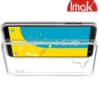 IMAK Crystal  пластиковый кейс накладка для Samsung Galaxy J6 2018 SM-J600F