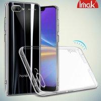 IMAK Crystal Прозрачный пластиковый кейс накладка для Huawei Honor 10