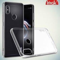 IMAK Crystal Прозрачный пластиковый кейс накладка для Xiaomi Mi A2