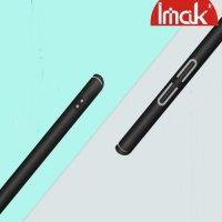 Imak Jazz Матовая пластиковая Кейс накладка для LG Q7 / Q7+ / Q7a Черный + Защитная пленка