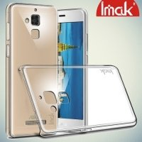 IMAK Пластиковый прозрачный чехол для Asus ZenFone 3 Max ZC520TL