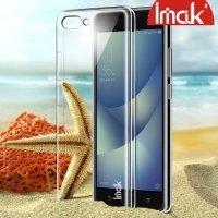 IMAK Пластиковый прозрачный чехол для Asus Zenfone 4 Max ZC554KL