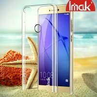 IMAK Пластиковый прозрачный чехол для Huawei Honor 8 lite / P8 lite (2017)