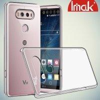 IMAK Пластиковый прозрачный чехол для LG V20