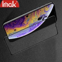 Imak Pro+ Full Glue Cover Защитное с полным клеем стекло для iPhone XS Max черное