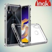 IMAK Shockproof силиконовый защитный чехол для Asus ZenFone 5Z ZS620KL прозрачный и защитная пленка
