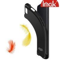 IMAK Shockproof силиконовый защитный чехол для Asus Zenfone Max M2 ZB633KL песочно-черный и защитная пленка
