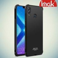 IMAK Shockproof силиконовый защитный чехол для Huawei Honor 8X черный и защитная пленка