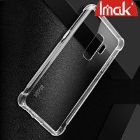 IMAK Shockproof силиконовый защитный чехол для Samsung Galaxy S9 Plus - прозрачный