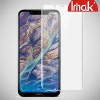 IMAK силиконовая гидрогель пленка для Nokia 8.1 на весь экран - 2 шт.