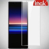 IMAK силиконовая гидрогель пленка для Sony Xperia 1 на весь экран