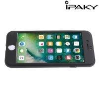 iPaky 360 series чехол для iPhone 8/7 с полной защитой корпуса – Черный