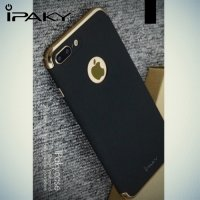 IPAKY чехол с Soft Touch покрытием для iPhone 8 Plus / 7 Plus - Золотой