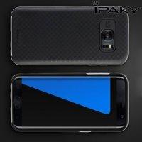 IPAKY противоударный чехол для Samsung Galaxy S7 Edge  - Серый