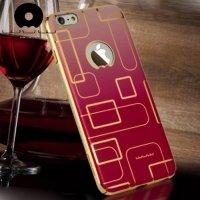 JLW Дизайнерский чехол для iPhone 6S / 6 - Красный лабиринт