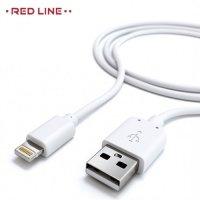 Кабель Lightning для iPhone и iPad Red Line - белый
