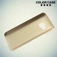 Кейс накладка для HTC One M9 - Золотой