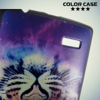 Кейс накладка для LG G4 с рисунком Тигр