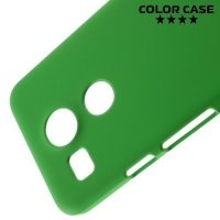 Кейс накладка для LG Nexus 5X - Зеленый