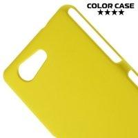 Кейс накладка для Sony Xperia Z3 Compact D5803 - Желтый