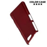 Кейс накладка для Sony Xperia Z3 Compact D5803 - Красный