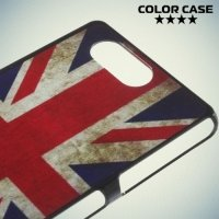 Кейс накладка для Sony Xperia Z3 Compact D5803 - с рисунком Британский флаг