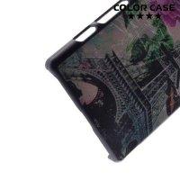 Кейс накладка для Sony Xperia Z5 Compact E5823 - с рисунком Париж