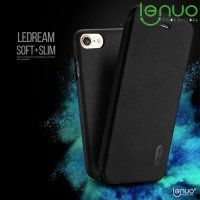 LENUO ультратонкий чехол книжка для iPhone 8/7 - Черный