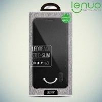 LENUO ультратонкий чехол книжка для Samsung Galaxy A5 2016 SM-A510F - Черный