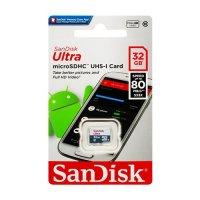 Карта памяти для телефона microSD HC SanDisk 32 Gb Class 10