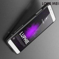 Металлический алюминиевый бампер для Huawei ShotX - Черный