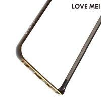 Металлический алюминиевый бампер для Samsung Galaxy S6 Edge Plus - Черный