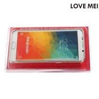 Металлический алюминиевый бампер для Samsung Galaxy S6 Edge Plus - Серебряный