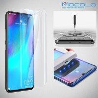MOCOLO Изогнутое защитное 3D стекло для Huawei P30 Pro - Прозрачное Жидкий Ультрафиолетовый Клей