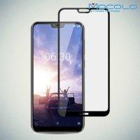 MOCOLO Защитное стекло для Nokia 6.1 Plus / X6 2018 - Черное