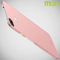 Mofi Slim Armor Матовый жесткий пластиковый чехол для Google Pixel 3a XL - Розовое Золото