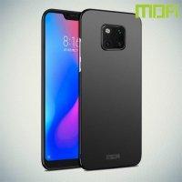 Mofi Slim Armor Матовый жесткий пластиковый чехол для Huawei Mate 20 Pro - Черный