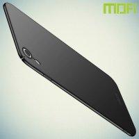 Mofi Slim Armor Матовый жесткий пластиковый чехол для iPhone XR - Черный