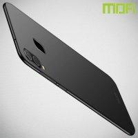 Mofi Slim Armor Матовый жесткий пластиковый чехол для Samsung Galaxy A40 - Черный