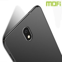 Mofi Slim Armor Матовый жесткий пластиковый чехол для Samsung Galaxy J7 2018 - Черный